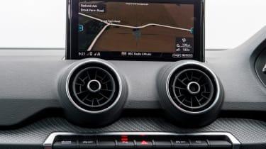 Audi Q2 - infotainment screen