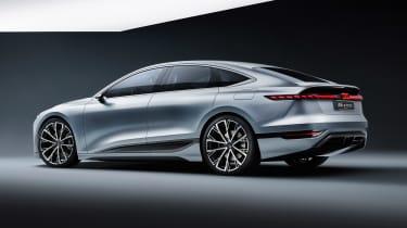 Audi A6 e-tron concept - rear studio