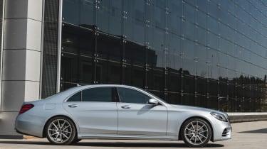New Mercedes S-Class - side