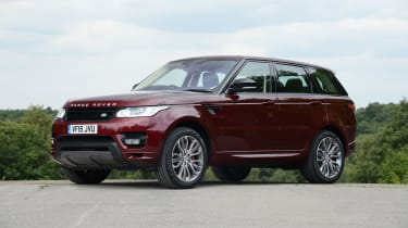 Range Rover Sport - front static