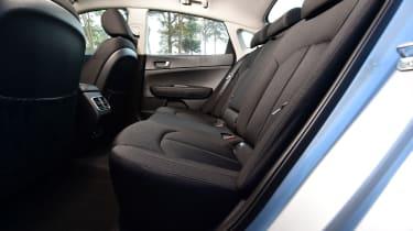 Kia Optima - rear seats