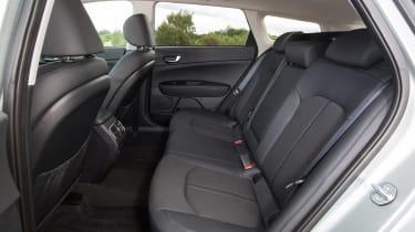 Kia Optima Sportswagon PHEV - rear seats