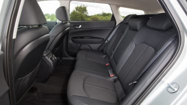 Kia Optima Sportswagon PHEV - rear seats