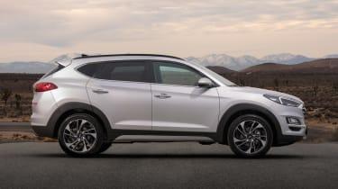 Facelifted Hyundai Tucson - side static