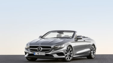 Mercedes S-Class Cabriolet 14