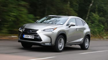 Lexus NX front driving