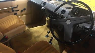Range Rover Reborn interior - Retromobile