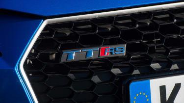 Audi TT RS Roadster - RS badge