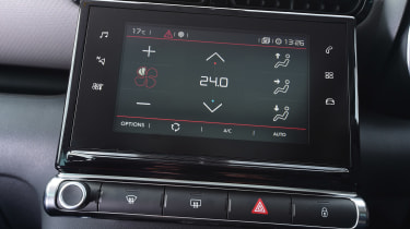 Citroen C3 Aircross - climate control
