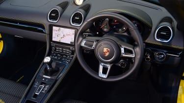 Porsche Boxster T - interior