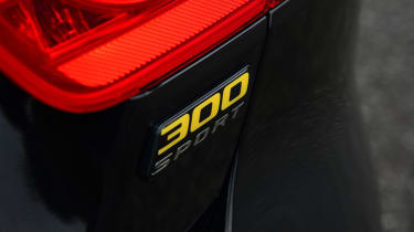 Jaguar XE 300 Sport - 300 Sport badge