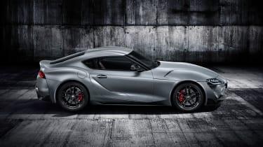 Toyota Supra - grey side above
