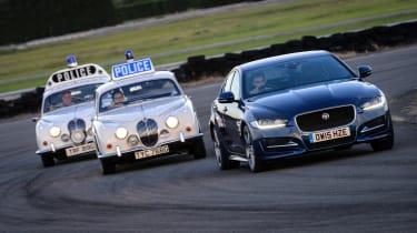 Jaguar XE long-termer - chase
