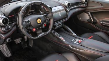 Ferrari GTC4 Lusso T 2017 - silver interior