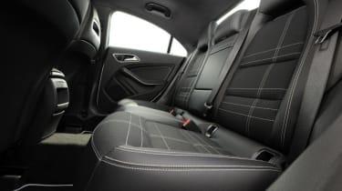 Used Mercedes CLA - rear seats