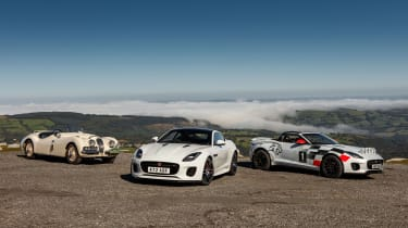Jaguar F-Type rally car - range static