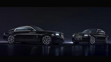 Rolls Royce Black Badge both