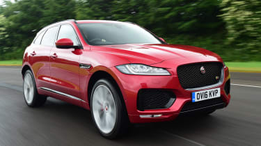 Jaguar F-Pace - front action