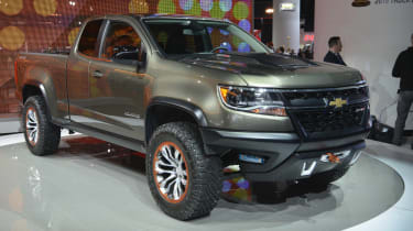 "<p class=""p1"">It's not just passenger cars that spawn concept cars at the world's top motor shows - pick-up trucks do too, like the Chevy Colorado ZR2 Concept here. It's supposedly aimed at those looking to go off-road with their pick-"