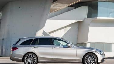 Mercedes C-Class Estate - side static