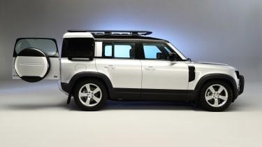 Land Rover Defender - studio side rear door open