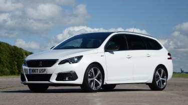 Peugeot 308 SW - front static