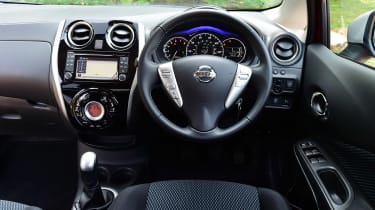 Used Nissan Note Mk2 - dash