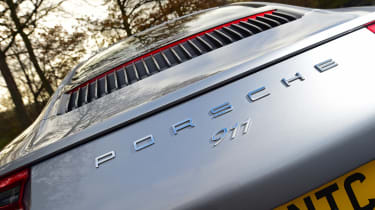 Porsche 911 Carrera 2015 rear detail