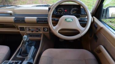 Land Rover Discovery Mk1 - dash