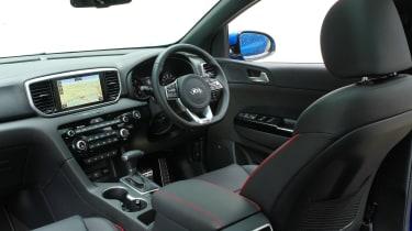 Kia Sportage - cabin
