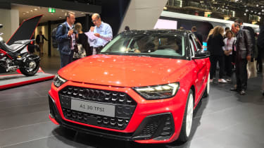 New Audi A1 revealed front