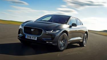 Jaguar I-Pace - front cornering