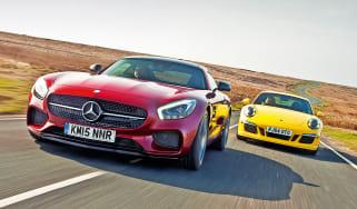 Mercedes-AMG GT S vs Porsche Carrera 4 GTS