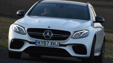 Mercedes-AMG E 63 S front dynamic
