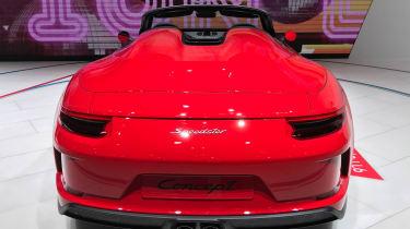 Porsche 911 Speedster - Paris full rear