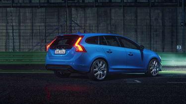 Volvo V60 Polestar - rear night