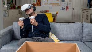 Virtual reality test drive