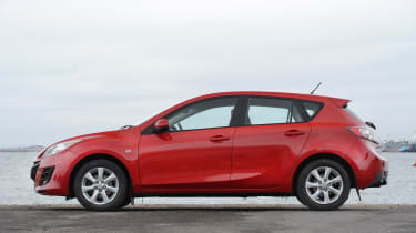 Used Mazda 3 - side