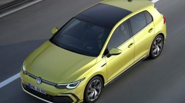 Volkswagen Golf R-line - aerial front