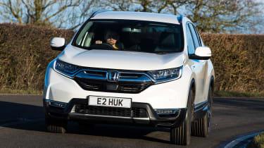 Honda CR-V hybrid - front action