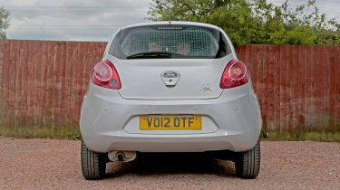 Used Ford Ka review - rear