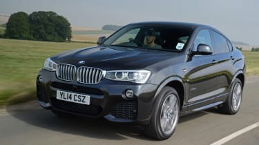 New BMW X4 2014 UK front