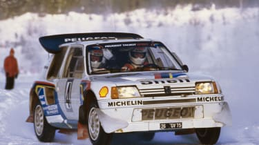 Peugeot Sport - Ari Vatanen interview 205 T16 snow
