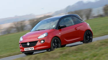 Vauxhall Adam Energised - front/side