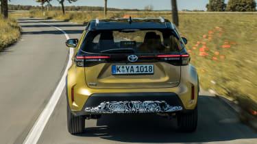 Toyota Yaris Cross prototype - full rear