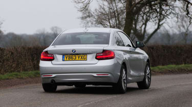 BMW 2 Series 220d rear action