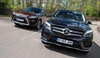 Mercedes GLE vs Lexus RX - header