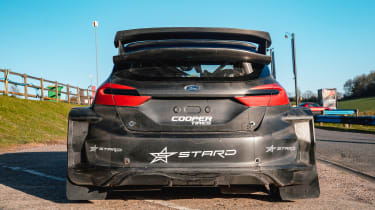 Rallycross Championship 5 Nations Trophy - Ford Fiesta rear