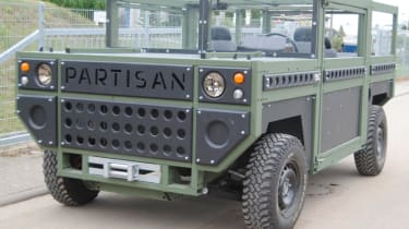 New Partisan One - front quarter static