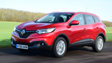 Used Renault Kadjar - front action
